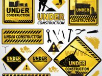 construction_of_signs_and_markers_design_vector_571276
